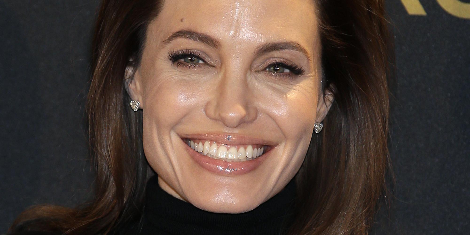 Angelina Jolie en la presentacion de us película Unbroken