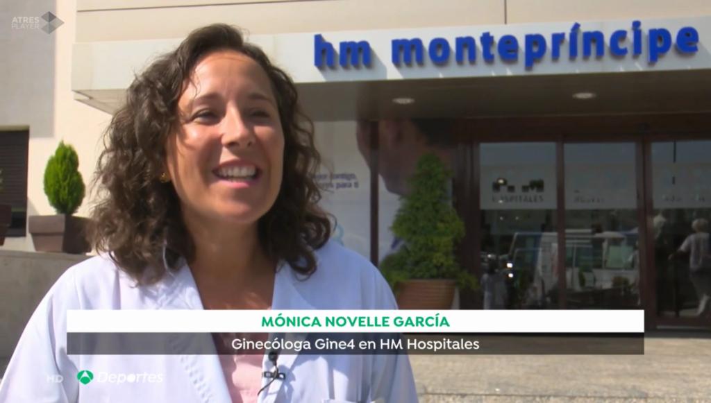 Dra. Mónica Novelle - Antena 3 Noticias Deportes